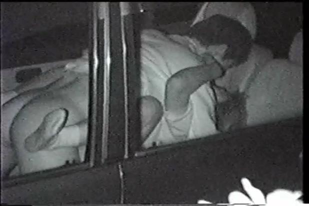 深夜の車のセックス赤外線カメラ盗撮 コレクション 1